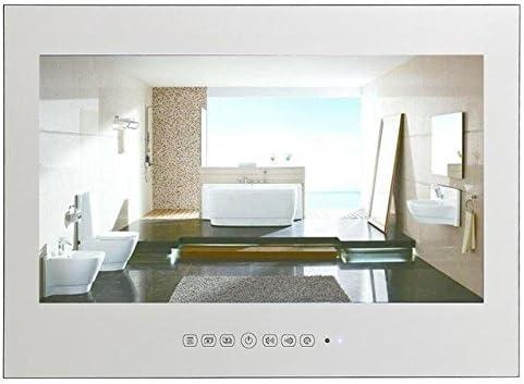 HITSAN Souria ip66 32 Pulgadas Espejo Baño TV Impermeable LED TV ...