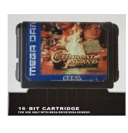 Taka Co 16 Bit Sega MD Game Cutthroat Island - 16 bit MD Games Cartridge For MegaDrive Genesis console
