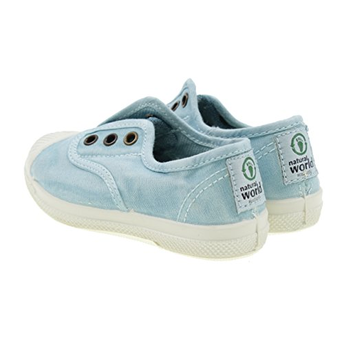 Baskets 102E turquoises Turkis