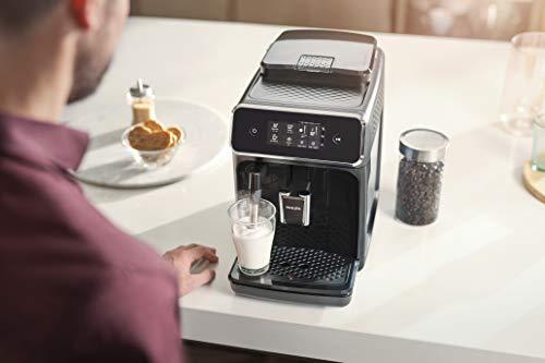Philips Serie 2200 EP2220/10 Macchina da Caffè Automatica, 2 Bevande, con Macine in Ceramica, Filtro AquaClean… 4