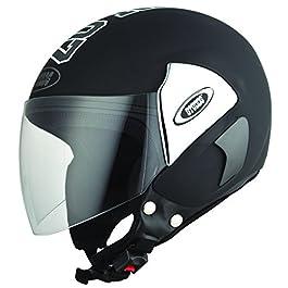 Studds Cub 07 SUS_C07OFH_BLKL Open Face Helmet (Black, L)
