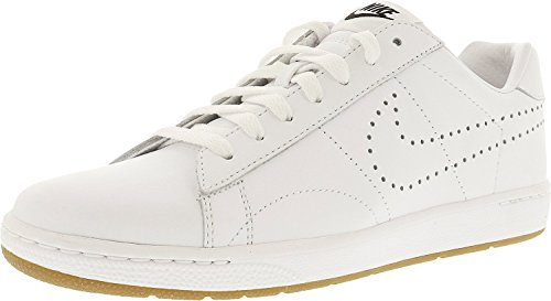 Nike Mens Tennis Classic Ultra Lthr Scarpa Casuale Bianco / Bianco-gum Med Marrone