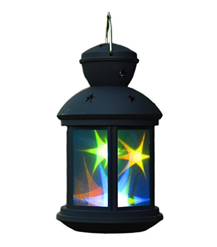The Amazing 3D Star Lantern Magical Light Show of Twinkling Colored Night (Rubberized Battery Door)