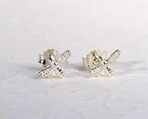 kleine Insekten Ohrstecker Bienen Ohrstecker 925 Sterling Silber