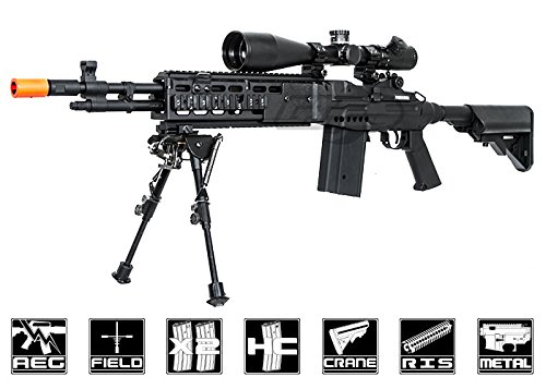 echo1 full metal m14 combat master in black(Airsoft Gun)