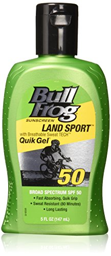 BullFrog Land Sport, Quik Gel Sunscreen SPF 50 (Pack of ()