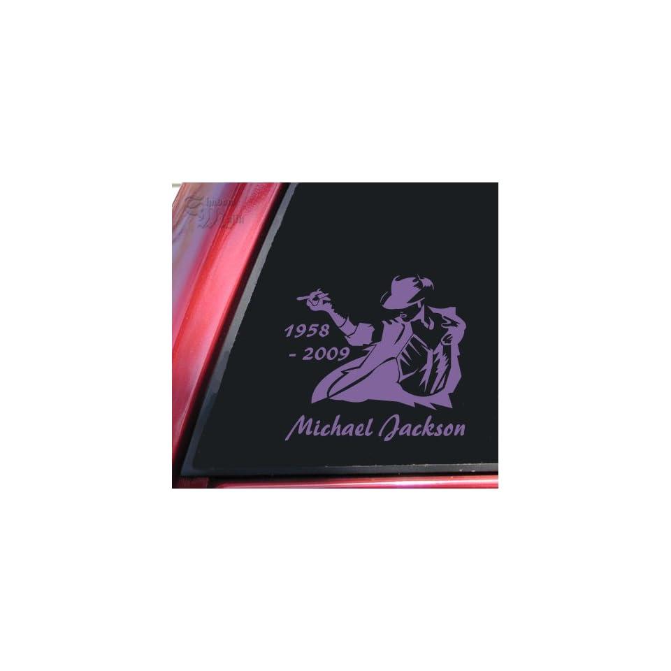 Michael Jackson 1958   2009 Vinyl Decal Sticker   Lavender
