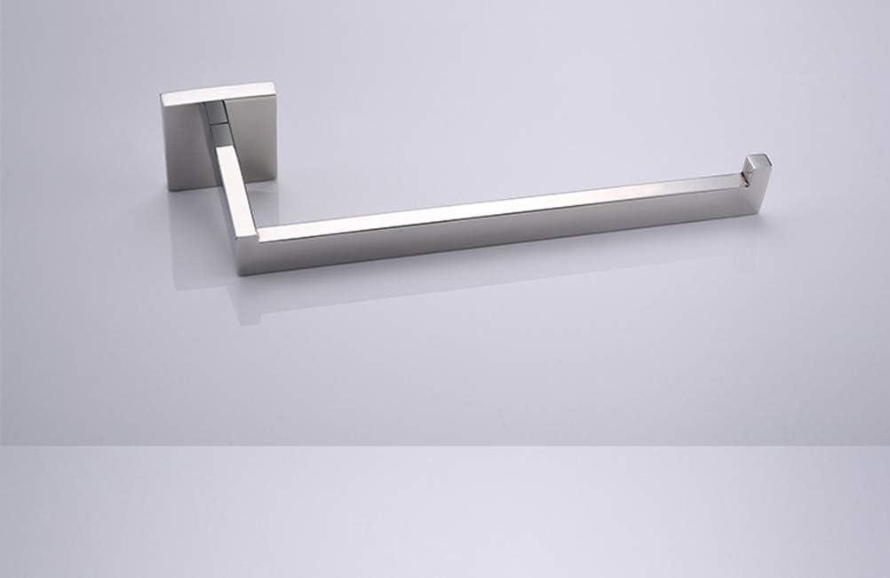 Aothpher Bagno Adesivo Porta Salviette Acciaio Inox Portasciugamani 60 5,5 cm /…spazzolato 12.5