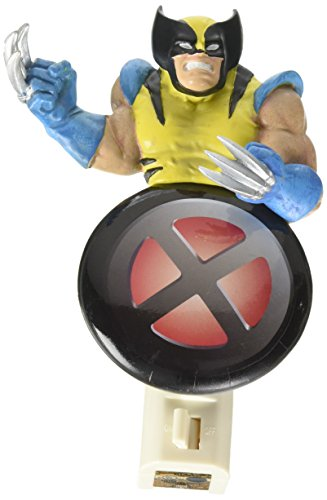 Westland Giftware Resin Nightlight, Wolverine