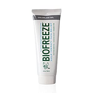 Biofreeze Pain Relief Gel, Colorless Formula, Pain Reliever from Biofreeze
