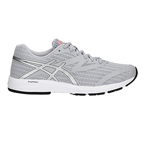 Asics Amplica, Chaussures de Running Femme, Rose Gris (Mid Grey/Silver 020)