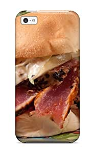 Hot Fashion IdCHnZx8478NxdZM Design Case Cover For Iphone 5c Protective Case (seared Ahi Tuna Sandwich)