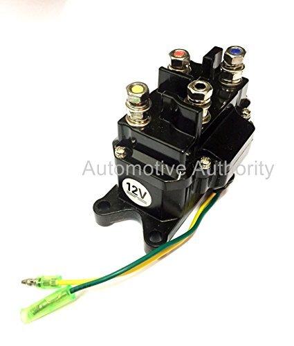 12V Solenoid Relay Contactor Winch Rocker Switch Thumb Truck ATV UTV Universal by Autmotive Authority