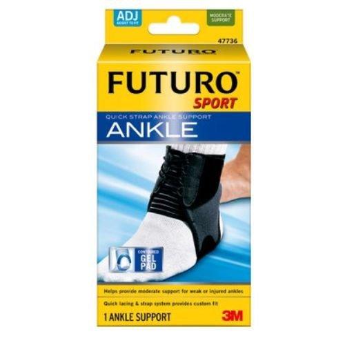 3M Health Care 47736EN Ankle Brace, Adjustable, Black (Pack of 12) by 3M Health Care