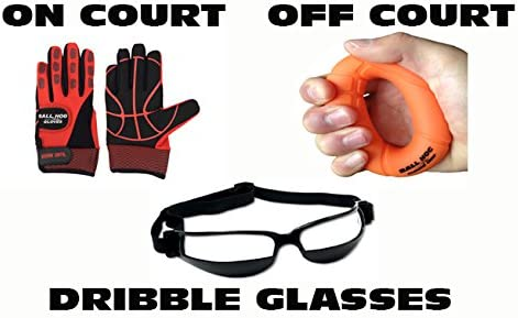 Ball Hog Gloves Weighted X – Factor Ball Hog Gloves Hand Grip Strengthener Dribble Glasses