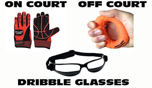 Ball Hog Gloves Weighted X – Factor Ball Hog Gloves Hand Grip Strengthener Dribble Glasses