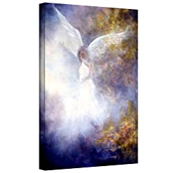 Art Wall Marina Petro The Guardian Gallery Wrapped Canvas Art, 48 By 32-inch