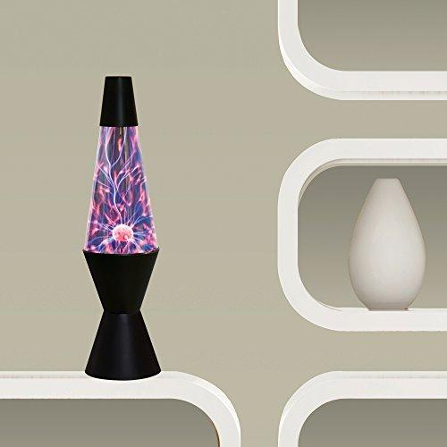 047162072957 - 14.5-Inch Electroplasma Lightning Arcs Lava Lamp carousel main 2