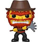 Evil Groundskeeper Willie (2019 Fall Con Exc): Fun ko Pop! TV Vinyl Figure & 1 Compatible Graphic Protector Bundle (824 - 39726 - B)