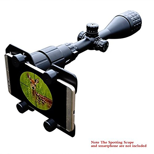 Bestguarder Hunting Rifle Scope Smartphone Mounting System Smart Shoot Scope Mount Cam Adapter For Gun Scope Airgun Scope Display   Record The Hunting Via The Cell Phone