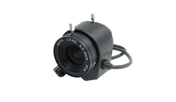Amazon.com: eDealMax F1.4 Apertura de la lente de la cámara 1/3 CS Instalación automática de circuito cerrado de televisión: Electronics
