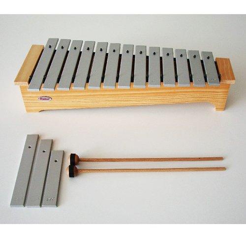 METALOFONO DIATONICO - Honsuy (Metalofono Soprano Diatonico) Do/La (Laminas de Aluminio) 49240 T   B01GOTXJQ2