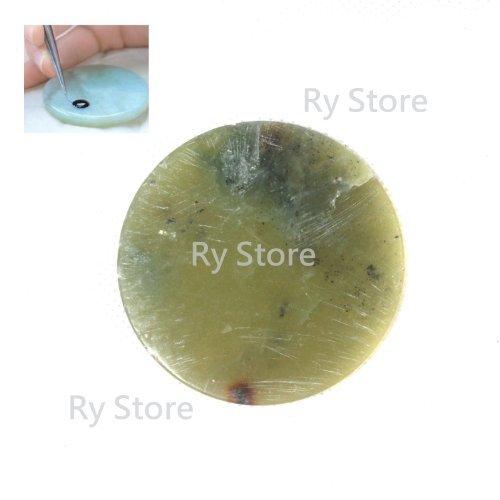 Hot Sale~~ 1 PCS Modern Lash EyeLashes Extension Pallet Platform Jade Stone Glue Adhesive Holder Base (5.5 to 6 cm)