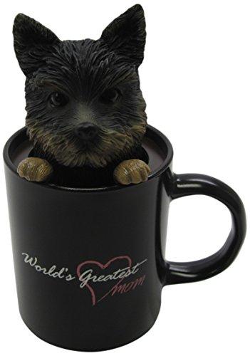 - Idea Max Peek-A-Pet Bobble Heads Worlds Greatest Mom Yorkshire Terrier (Mug)