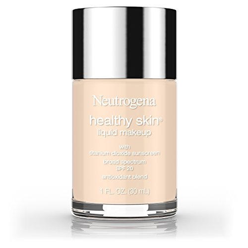 Neutrogena Healthy Skin Liquid Makeup Foundation, Broad Spectrum Spf 20, 10 Classic Ivory, 1 Oz.