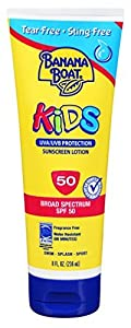 Banana Boat Kids Tear Free Sunscreen Lotion SPF 50