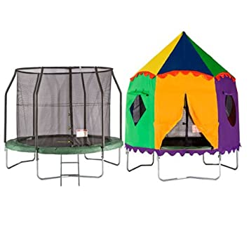 8ft Telstar Jump Capsule Tr&oline and Safety Net Package - FREE CIRCUS TENT u0026 COVER ONLY  sc 1 st  Amazon UK & 8ft Telstar Jump Capsule Trampoline and Safety Net Package - FREE ...