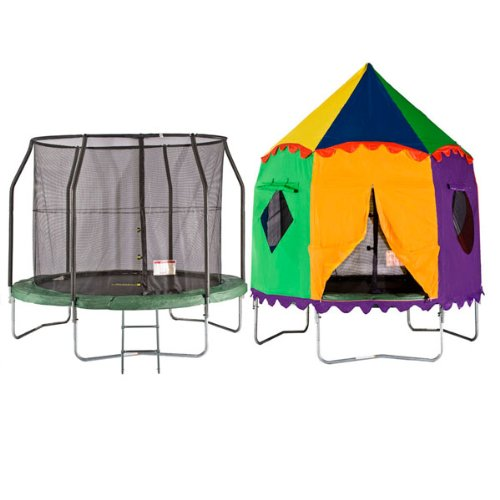 8ft Telstar Jump Capsule Tr&oline and Safety Net Package - FREE CIRCUS TENT u0026 COVER ONLY £279 48HR DELIVERY Amazon.co.uk Sports u0026 Outdoors  sc 1 st  Amazon UK & 8ft Telstar Jump Capsule Trampoline and Safety Net Package - FREE ...