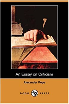 pope an essay on criticism line numbers