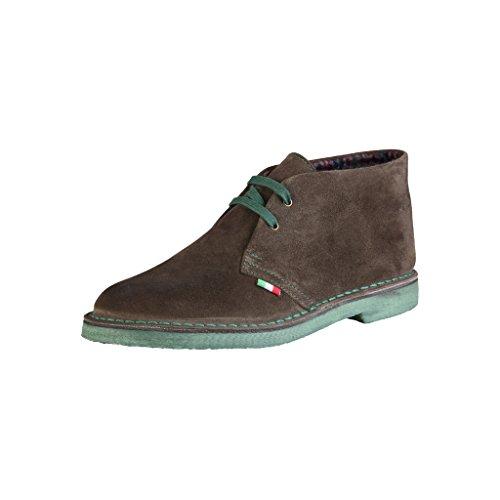 Chukka Marron in Made Bottines Shoes Italia Homme nqTUw6x