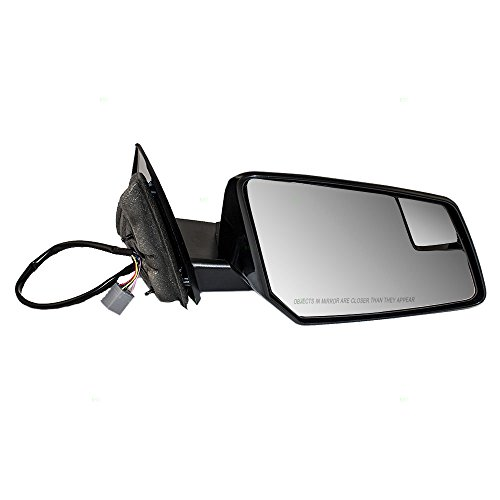Passengers Power Side View Mirror Heated Signal Spotter Glass Replacement for Chevrolet Traverse GMC Acadia Saturn Outlook 20879275