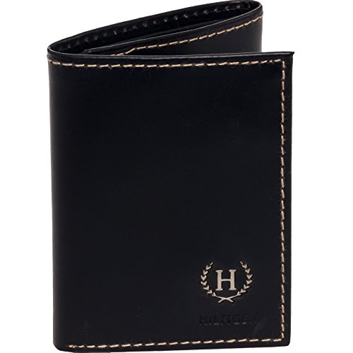 04. Tommy Hilfiger Men's Hove Trifold Wallet (Black)