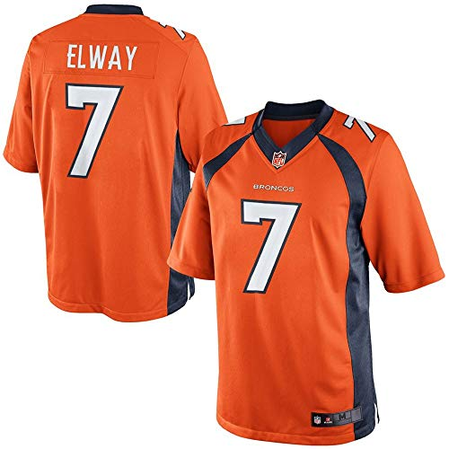Denver Elway John Broncos (John Elway #7 Denver Broncos Retired Player Limited Orange Jersey (L))