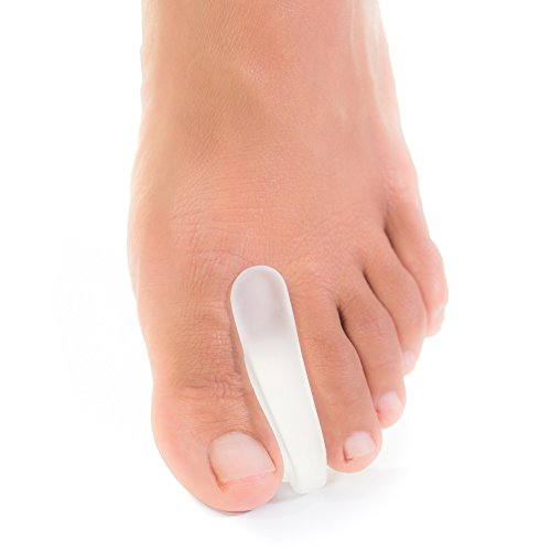 ZenToes Toe Separators for Bunion Pain Relief Set of 6 Flared Gel Straighteners Align Toes and Prevent Corns and Blisters