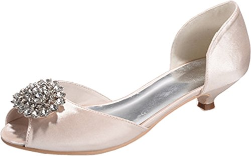 Salabobo Bout Ouvert femme - Beige - champagne,