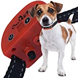 Our K9 Training Made Easy – Anti - Bark Collar - Sound (Beep) or Silent (Ultrasonic) & 7 Levels of Adjustable Vibration or Shock, Pain-Free and Ultra Safe Cherry
