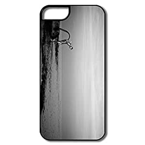 Section Full Protection Sea Pool Black White IPhone 5/5s Case For Friend