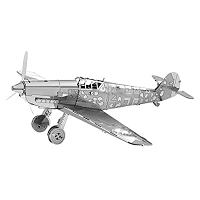 Metal Earth Fascinations Messerschmitt Bf 109 3d Metall Puzzle Laser Cut Models