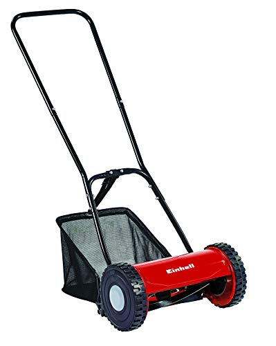 Einhell GC-HM 30 Manual Hand Push Lawnmower with 30 cm Cutting Width -...