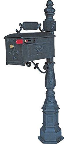 Decorative Bolt Mounted Mailbox Posts - 4