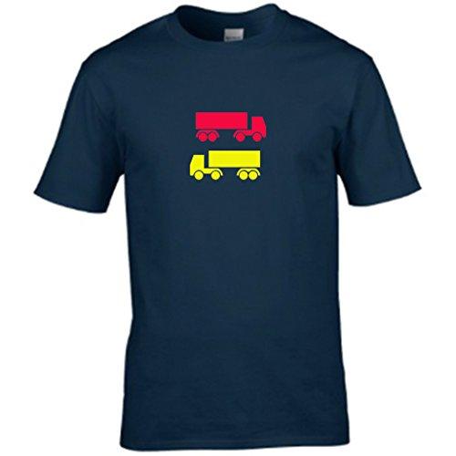 S Tees Herren T-Shirt Blau Navy Small