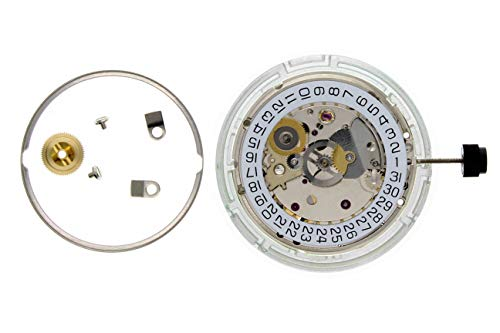 GENUINE ETA 2824-2 WATCH MOVEMENT 25 JEWEL DATE @ 3 DATE AUTO NICKEL SWISS ()