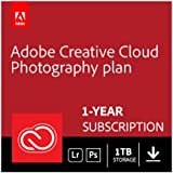 Adobe Creative Cloud Photography plan with 1TB | 1 Year Subscription (PC Download)