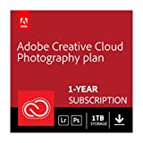 Adobe Creative Cloud Photography plan with 1TB | 1 Year Subscription (Mac Download)
