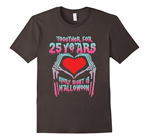 Mens Halloween Costume For Couple. 25th Wedding Anniversary Gifts Medium Asphalt