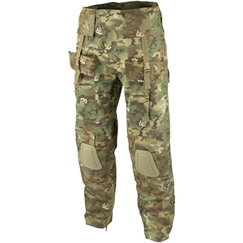 Mil-Tec Men's Tactical Trousers Warrior Arid Woodland size -